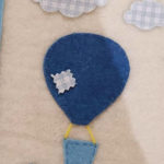 Mongolfiera blu